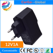Factory direct sales USB charger 12V1A tablet computer high-power charging head European standard 12V adapter MT113111
