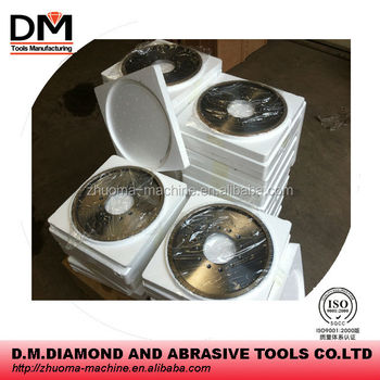 DIA.200MM Metal-Bond Dry Squaring Cup wheel 1001