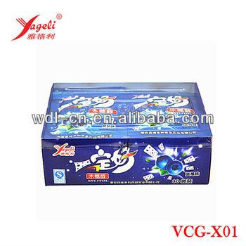 High Quality Confectionery Xylitol Chewing Gum Balls VCG-X01