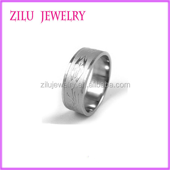 China Jewelry 2016 Fashion Jewelry Cheap Wholesale Custom Made Stainless Steel Ring