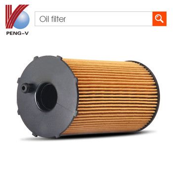 Auto car oil filter OEMHU611x CH9437EC0 7700126705 7701206705 8200025862 8200042833 E45HD11 Chinese manufacturer oil filter