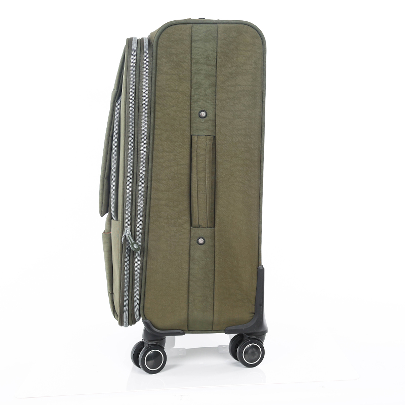 universal washer wrinkle fabric carry--on luggage bag