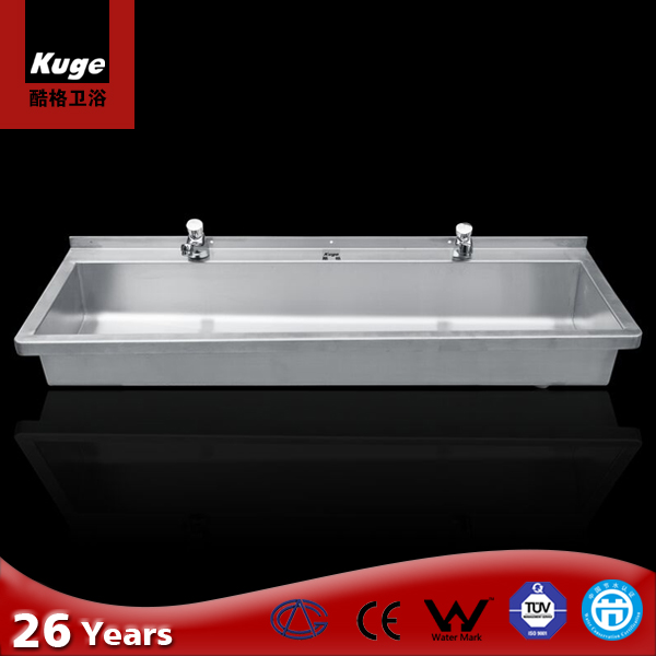 CE Approved Stainless Steel Foshan Long Bathroom Sink