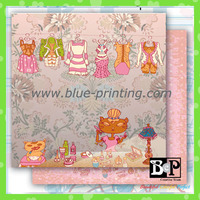 BCP Cute Recycle Scrapbook Paper With Love
