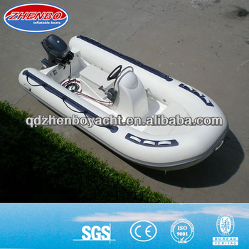CE RIB boat/FRP inflatable boat/Rigid inflatable boat RIB380