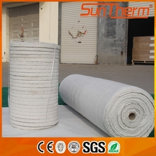 Ceramic glass fiber strengthened rope for fireplace