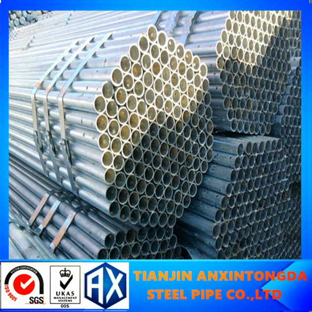 square structural welded steel tube galvanized steel pipe for bulding material
