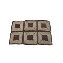 New style L 92.0*<strong>W</strong> 61*H 1.5 cm natural fibre floor mats for living room