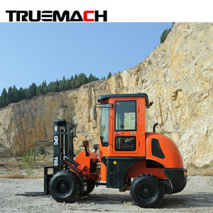 3Ton 4wd Loader type All Rough Terrain Forklift