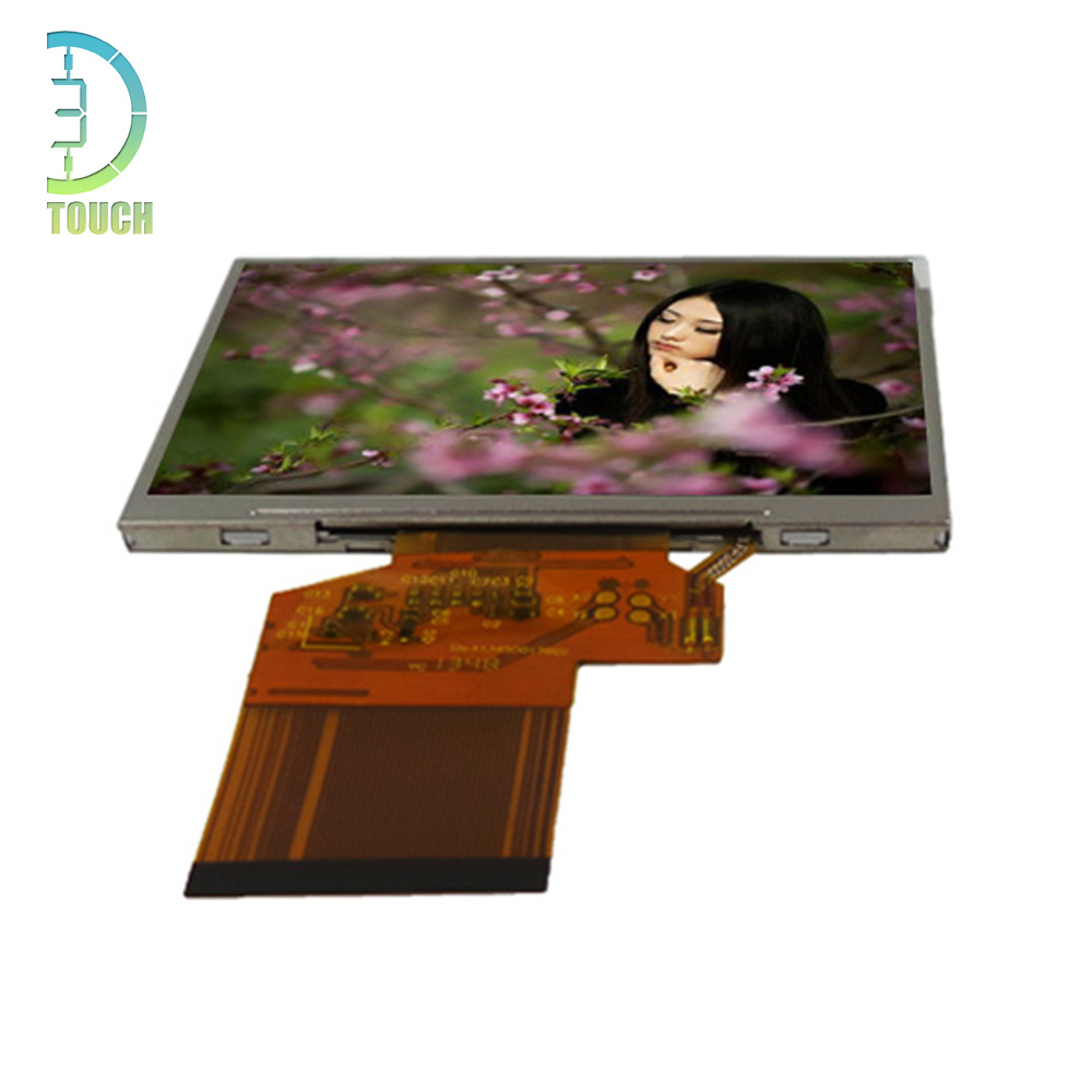 6.95 inch touch display TFT LCD display with 30 pin
