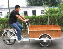 cargo bike with rain cover electric tricycle for factory direct sale