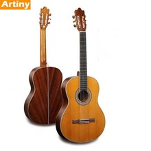 39'' plywood hand made classical guitars wholesale craft gitar classic guangzhou Free shipping