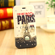 Universal Leather Flip Phone Case For Iphone 6 6Plus TPU