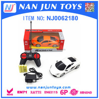 hot sale 1:24 4ch rc toy car with certification
