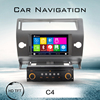 hot sale 2 din car dvd navigation player for citroen c4 2012