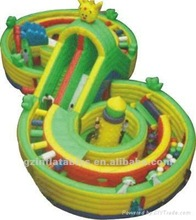 {Qi Ling} Rate race inflatable obstacle course
