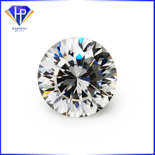 High Quality White CZ Diamond Cut Round 100 Facets Synthetic Cubic Zircon