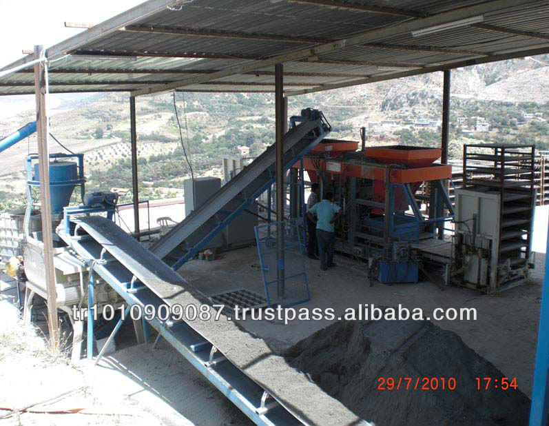 SEMI AUTOMATIC CONCRETE BLOCK MAKING MACHINE A+BS25