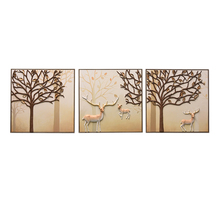 Modern Traditional Art Tree Handmade Oil Painting