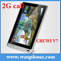 Cheap Android 4.0 Chuwi V7 All Winner A10 tablet chuwi
