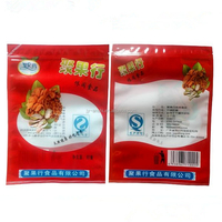 Resealable aluminum foil plastic zipper retort pouch packing custom printed vacuum bags for food