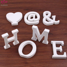 Table Numbers Home Birthday Party Supplies Kids Wedding Decoration Free Stand Wooden Letters MDF White Wood Alphabet