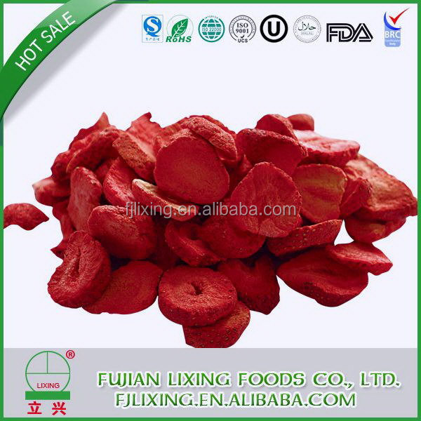 Super quality hot sale bulk oven dried strawberry