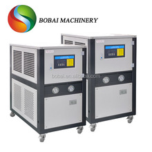Portable chiller machine for thermoforming machine