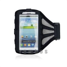 Ventilated Mesh Sports Armband Mobile Phone Case for Samsung Galaxy S3 S4