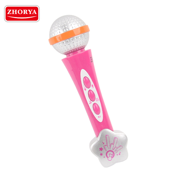 zhorya wholesale in stock cheap wireless karaoke microphone for kids