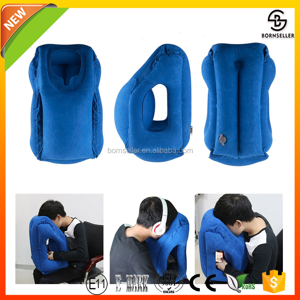 gift promotion Wedge Standard Size Inflatable Pillow Armrest