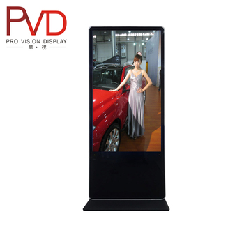 42 '' Floor Standing WIFI Function LCD Advertising Monitor Digital Advertising display