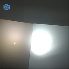 light diffusion polycarbonate sheet for LED light, smooth or frosted pc sheets