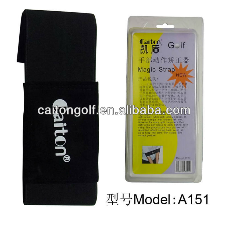 Golf training aids Golf Swing Trainer Practice Guide Gesture Alignment Training Wrist Correct Aids