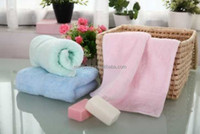 Delicate cotton plain satin hand towel 35*75cm 128g