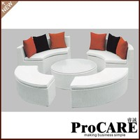 wholesale newest products synthetic rattan leisure outdoor furniture