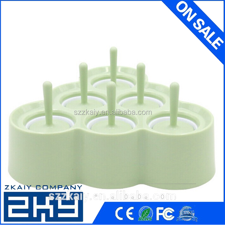 New Silicone Mini Ice Pops Mold Chocolates&round Cubes Mould Maker With Sillicon Party Supply