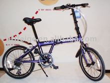 "20"" alloy folding bicycle/bike/cycle"