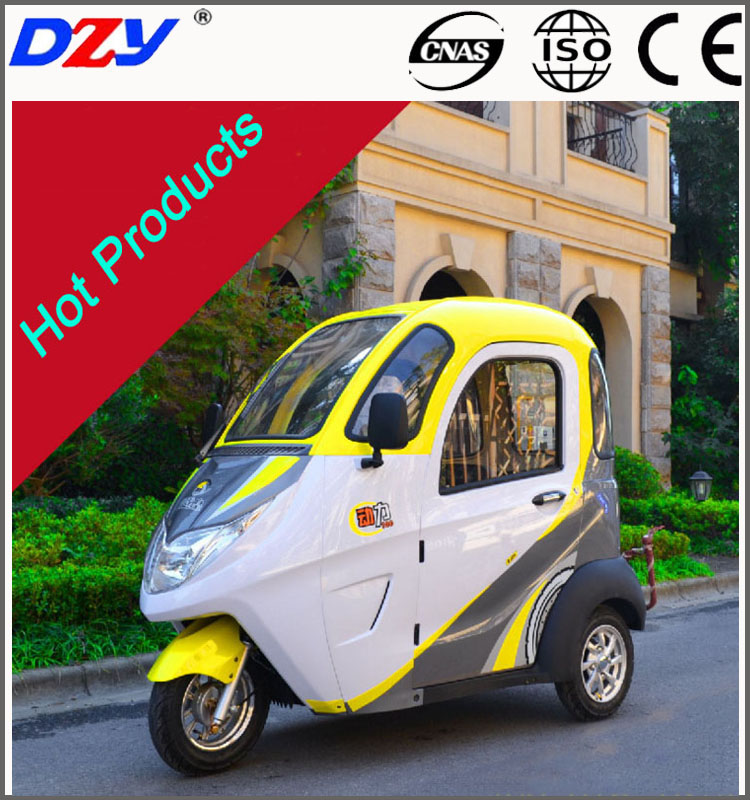 60V800W Fully enclosed elderly scooter electric tricycle recreational vehicle