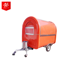 2018 CHEAP CHINA GRILL HOT DOG CART COFFEE SHOP DESIGN ICE CREAM TRUCK AND CAR TRAILER SNACK MOBILE ICE CREAM FRYER FOOD CART
