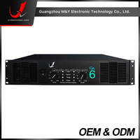 CA6-600W Subwoofer Power Amplifier For Outdoor Shows