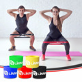 Custom Private logo Latex Fitness Exercise Loop Resistance Band Set
