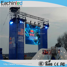 Rental hanging led display Die casting rental cabinet korea led display screen Eachinled P4.81 Led display / stage led screen fo