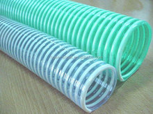 PVC spiral strengthened tube/gridding pipe