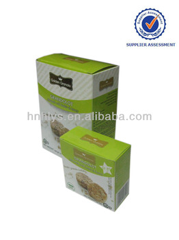 Custom Quality Granola Cookies Cardbaord Box