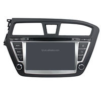 Double Din touch screen car dvd player for hyundai i20