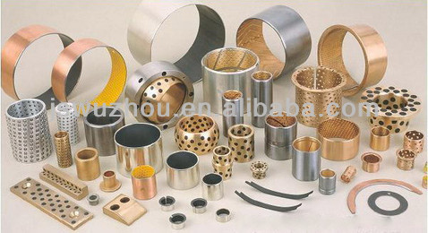 Copper Bushing Manufacturer WZB-800 Bimetal Bearing Bushing