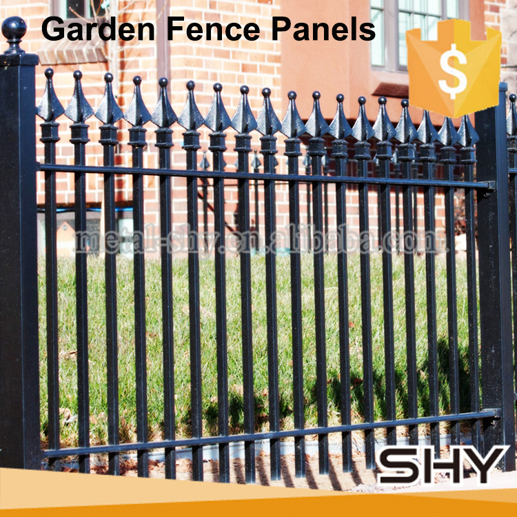 Used Cheap Outdoor Decorative Galvanized Wrought Iron