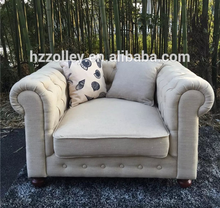 Classic chesterfield fabric living room 1+2+3 sofa set,hotel lobby button tufted sofa