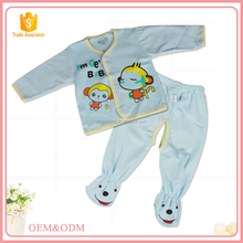 China factory wholesale 100% cotton material newborn baby clothes